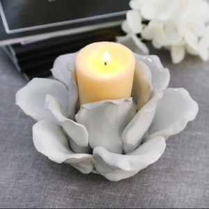 Other - Rose Flower Candle Holder